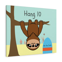 Mo the Sloth Canvas Gallery Wraps - Hang 10