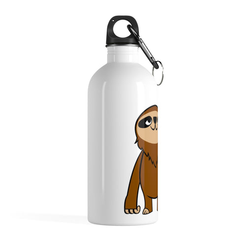 Mo the Sloth Steel Water Bottle - Body