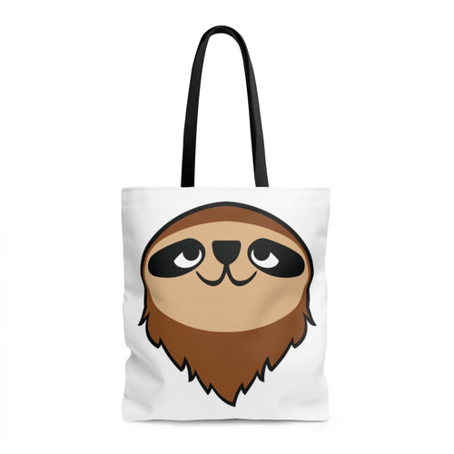 Mo the Sloth AOP Tote Bag - Head