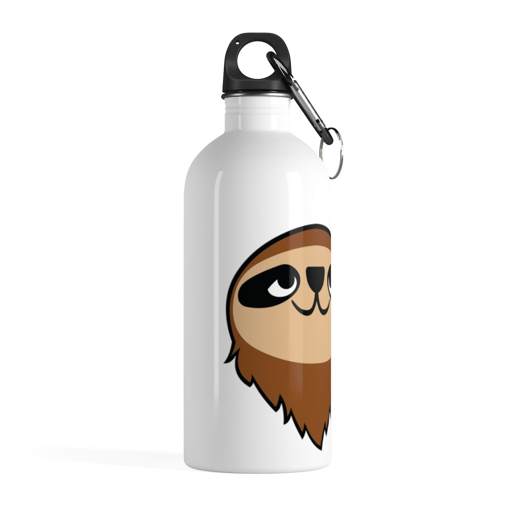 Mo the Sloth Stainless Steel Water Bottle - Head
