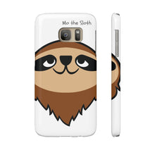 Mo the Sloth Case Mate Slim Phone Cases - Head