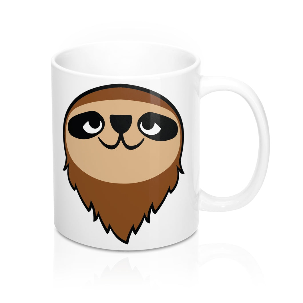 Mo the Sloth Mug 11oz - Head