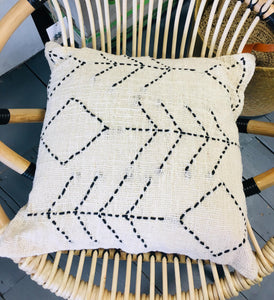 Berber Style Stitch Cushion