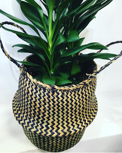 Seagrass Chevron Basket
