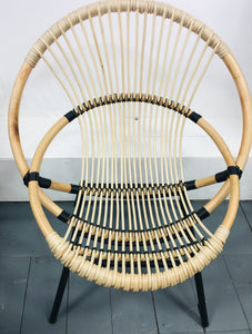Bamboo Scoop Chair