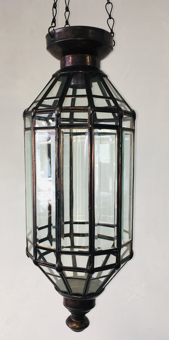 Hand Crafted Tall Storlop Ceiling Lantern
