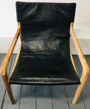 Load image into Gallery viewer, Leather Sling Chair