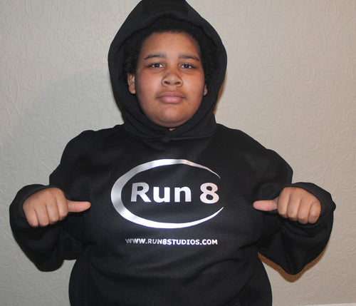 Combo Option #2 Run8 Hoddie and Hat