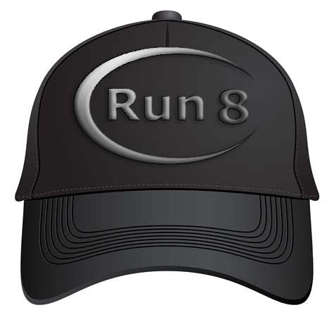 Run8 Hat (Fitted)