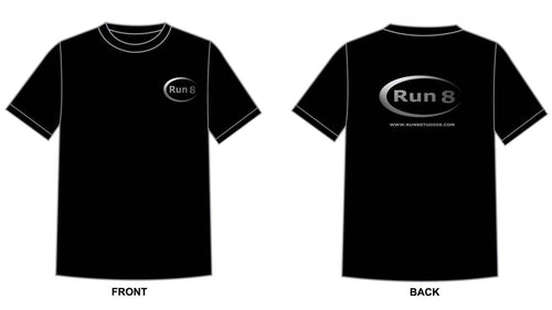 Run 8 Logo Tee-Shirts