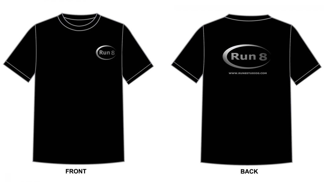 Combo Option #1 Run8 Shirt and Hoodie.