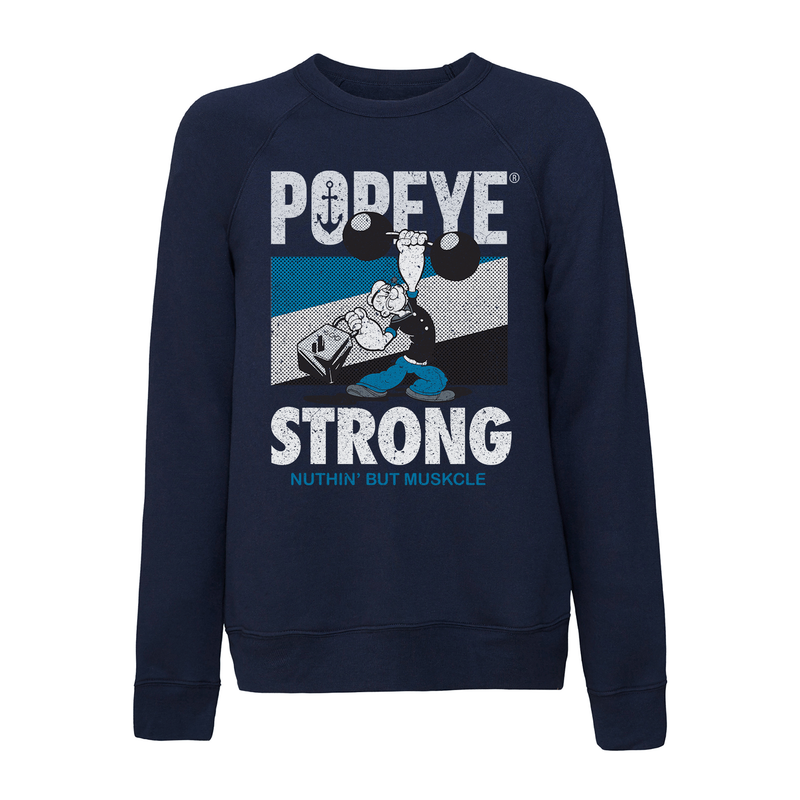 'Popeye Strong' Sweatshirt Navy