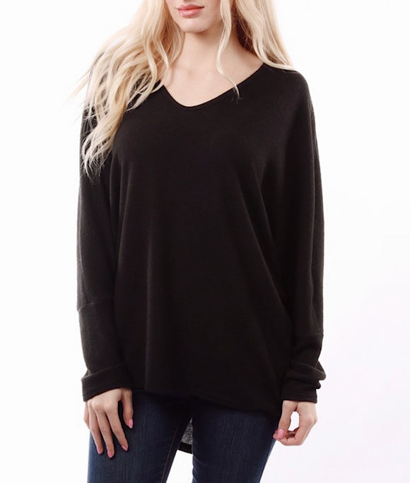 Black Enti V sweater
