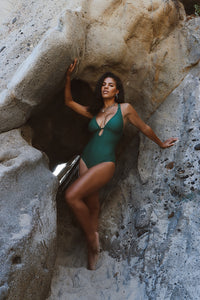 Emerald One Piece Swim Suit