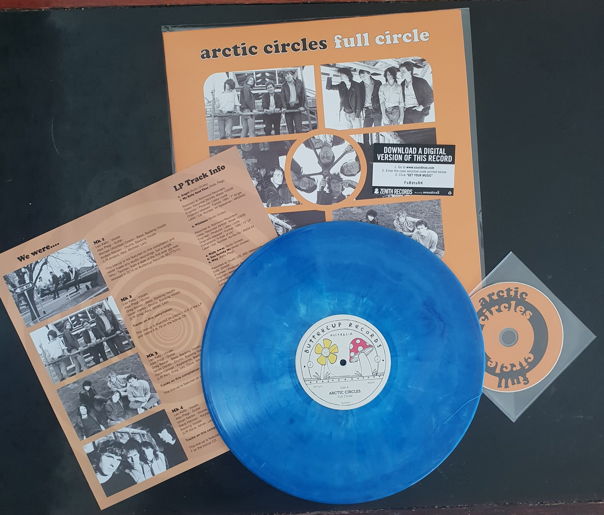 New Release: Arctic Circles - Full Circle LP