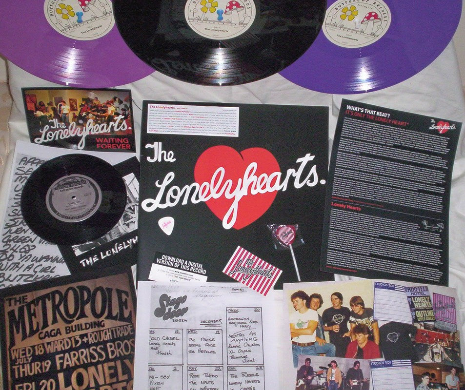 LONELYHEARTS -Self Titled LP - I-94 Bar '5 Bottle' Review April 27th 2017 by Craig Barman