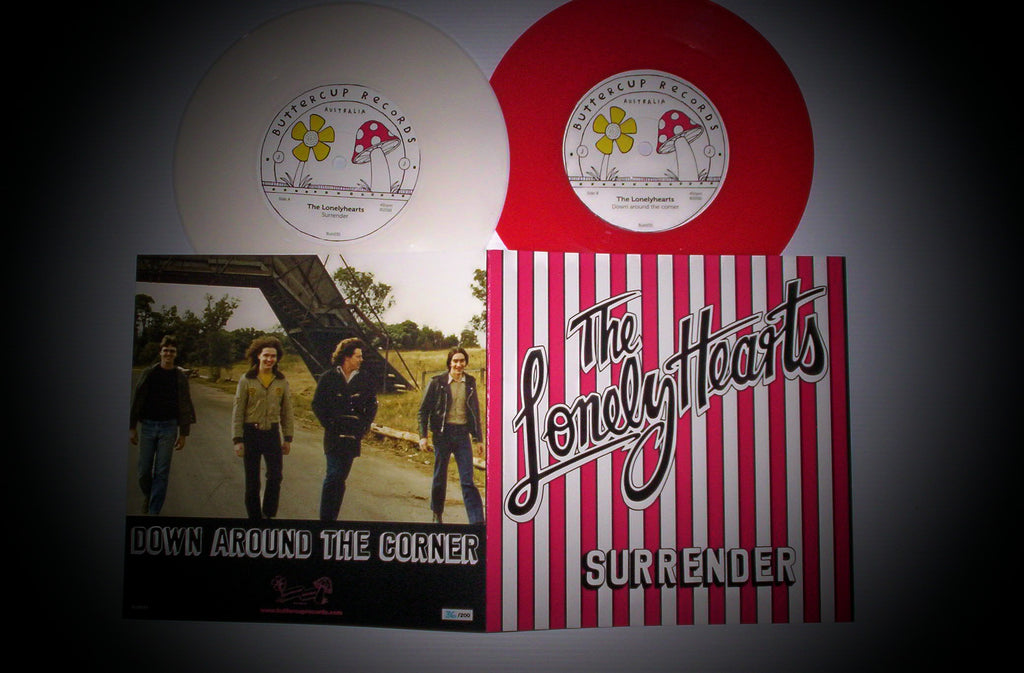 "The Lonelyhearts - Surrender 7"" Vinyl"