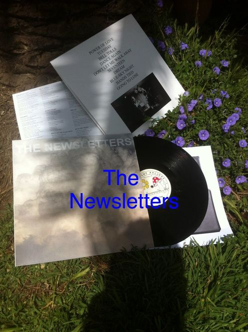 The Newsletters - Self Titled LP (Butt 035)
