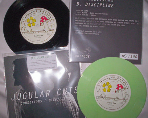 "Jugular Cuts - Conditions 7"" Vinyl"