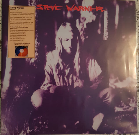 Steve Warner - Self Titled LP
