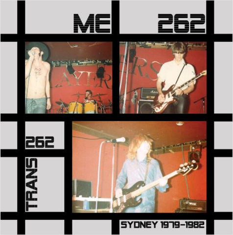 "ME 262 / TRANS 262 - Original 7"" Demos LP"