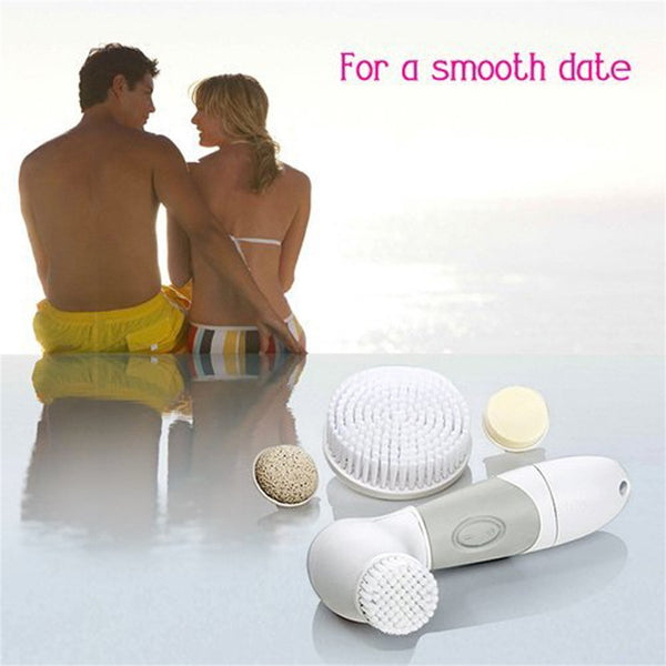 Facial Cleansing Brush Kit 5-in-1 Face Cleaning Apparatus