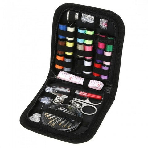 70PCS/Set Multifunction Sewing Box Sewing Thread Stitches Needles Tools Kit Cloth Buttons Craft Scissor Travel Sewing Kit 70pcs/set