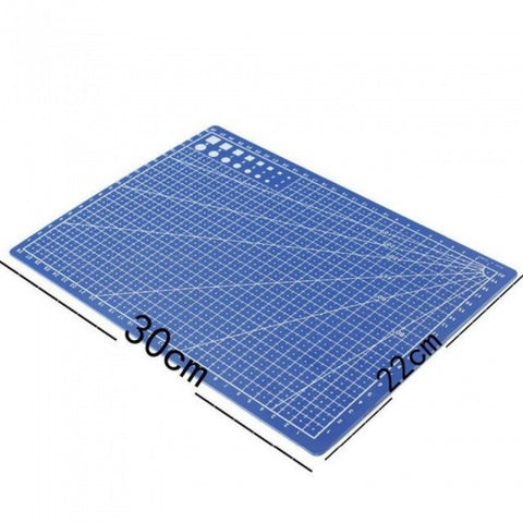 A4 / 30 * 22cm Sewing Cutting Mats Double-Sided Plate Design Engraving Cutting Board Mat Handmade Hand Tools 1PCS 30*22cm