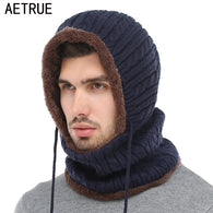 Winter Knitted Men Beanie