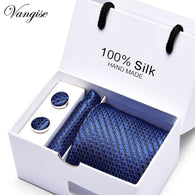 High-quality 100% Silk Men's Handmade Ties