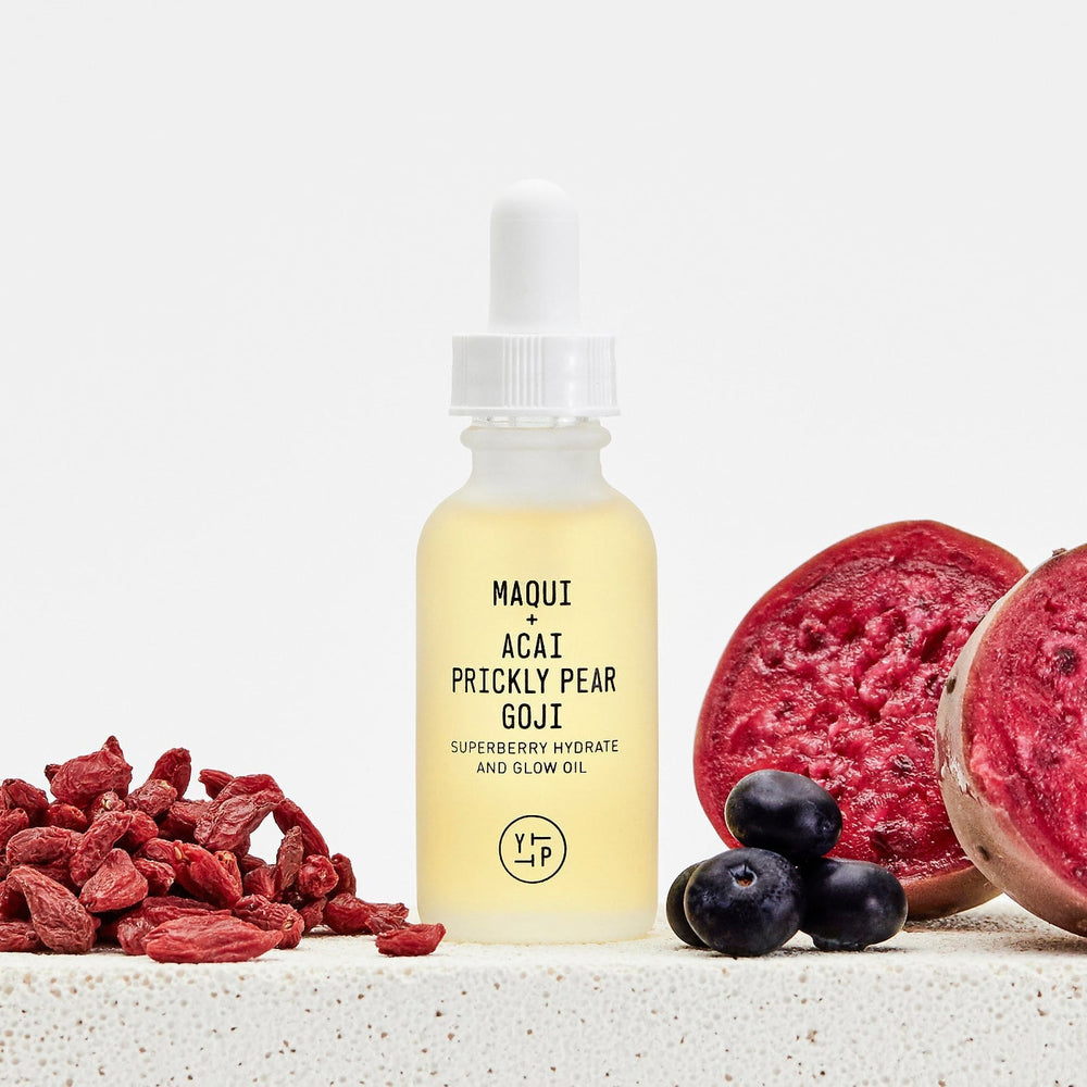 Load image into Gallery viewer, Acai Prickly Pear Goji Hydrate + Glow Oil