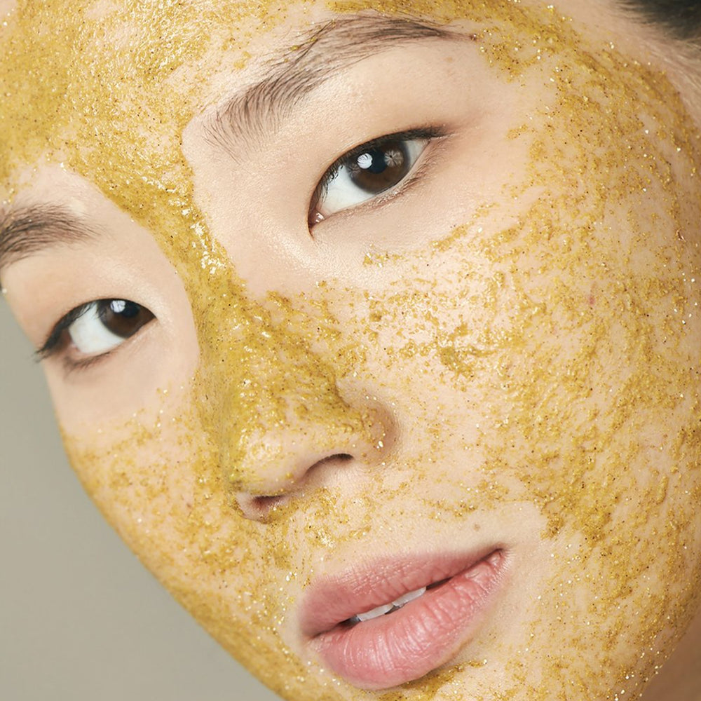 Turmeric Brightening & Exfoliating Mask