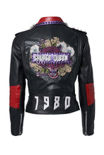 Load image into Gallery viewer, SAVAGE QUEEN Leather Jacket