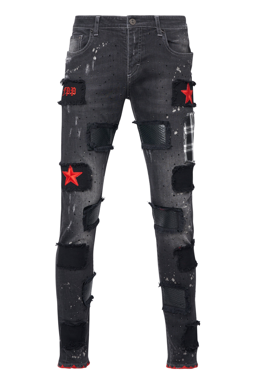 RED STAR Black Jeans