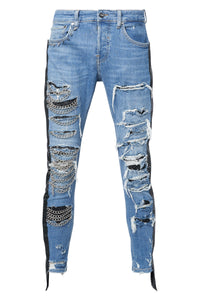 BLACK CHAINS Jeans