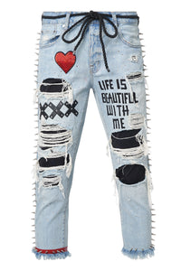 LIFE IS BEAUTIFUL Jeans