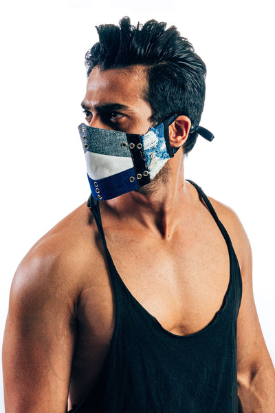 VIR Men Cap & Mask Fashion Accessory #027