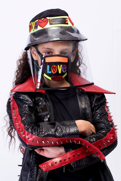 VIR Girls Hat & Mask Fashion Accessory #001