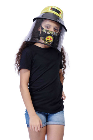 VIR Girls Hat & Mask Fashion Accessory #003