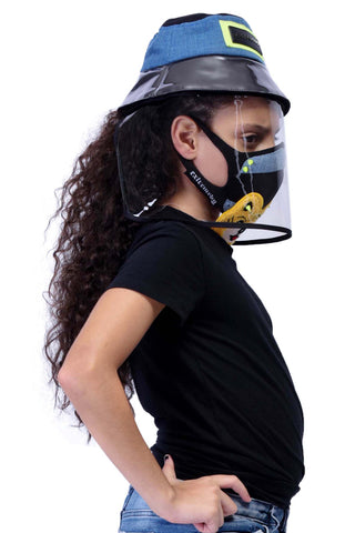VIR Girls Hat & Mask Fashion Accessory #005
