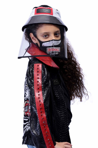 VIR Girls Hat & Mask Fashion Accessory #002