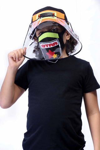 VIR Boys Cap & Mask Fashion Accessory #001