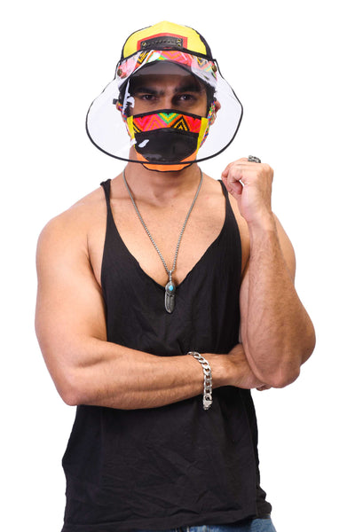 VIR Men Cap & Mask Fashion Accessory #032