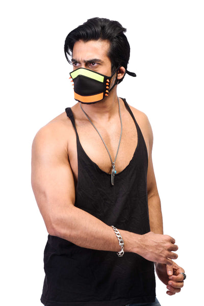 VIR Men Cap & Mask Fashion Accessory #033