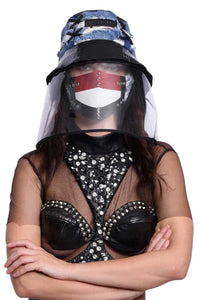 VIR Women Hat & Mask Fashion Accessory #026