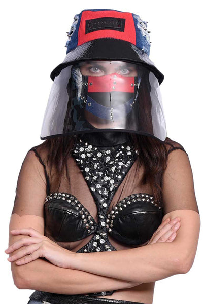 VIR Women Hat & Mask Fashion Accessory #025