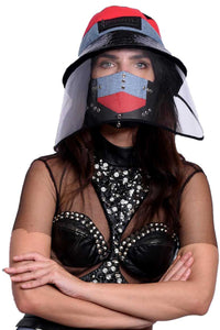 VIR Women Hat & Mask Fashion Accessory #022