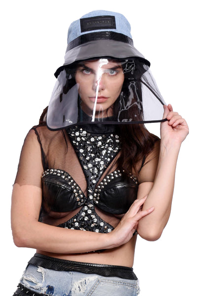 VIR Women Hat & Mask Fashion Accessory #010
