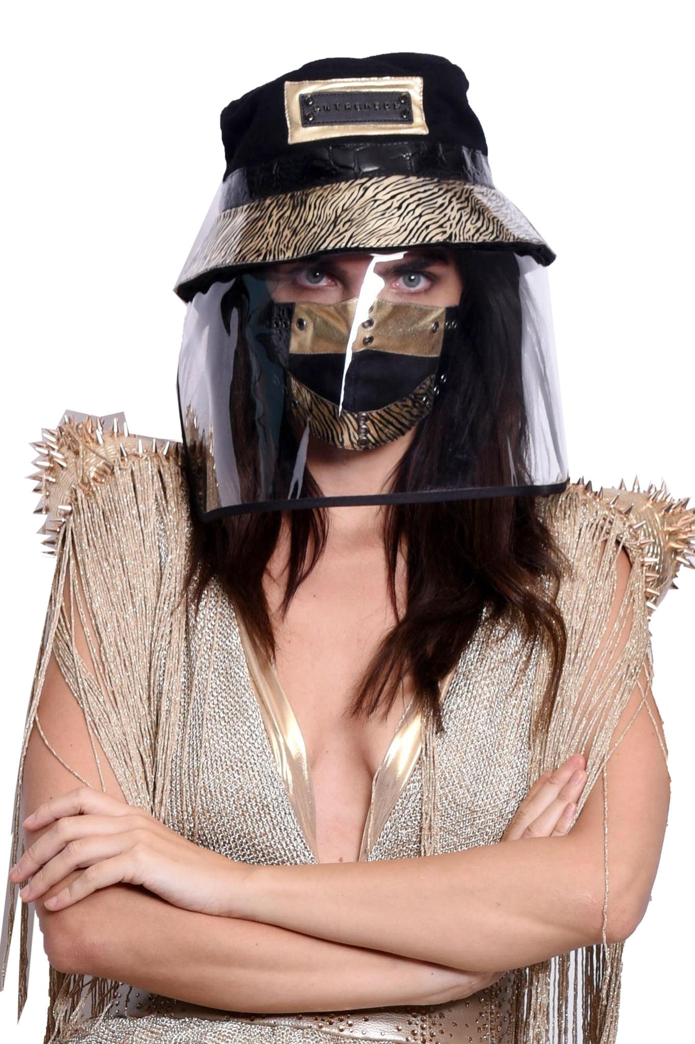 VIR Women Hat & Mask Fashion Accessory #016