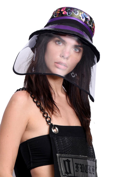 VIR Women Hat & Mask Fashion Accessory #044